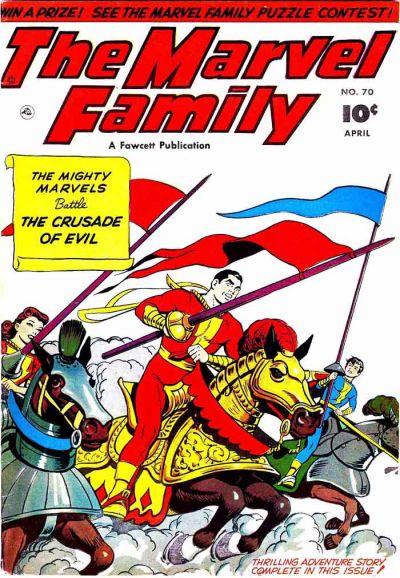 Cover for The Marvel Family (Fawcett, 1945 series) #70