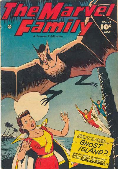 Cover for The Marvel Family (Fawcett, 1945 series) #71