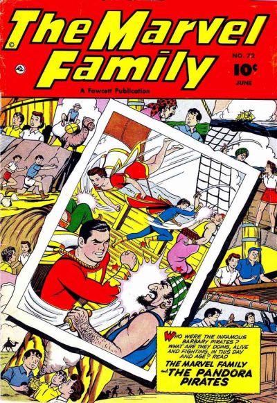 Cover for The Marvel Family (Fawcett, 1945 series) #72