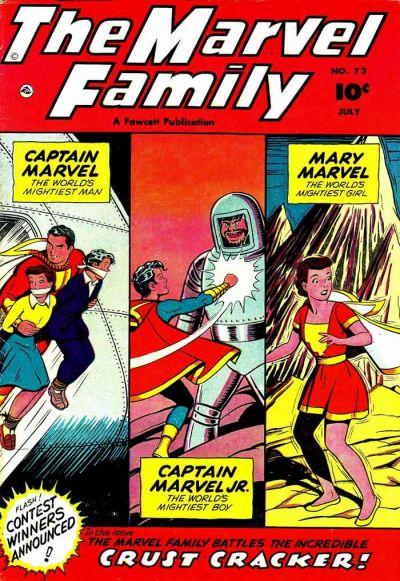 Cover for The Marvel Family (Fawcett, 1945 series) #73