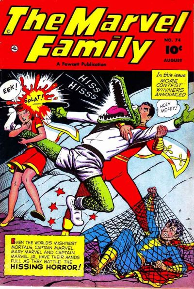 Cover for The Marvel Family (Fawcett, 1945 series) #74