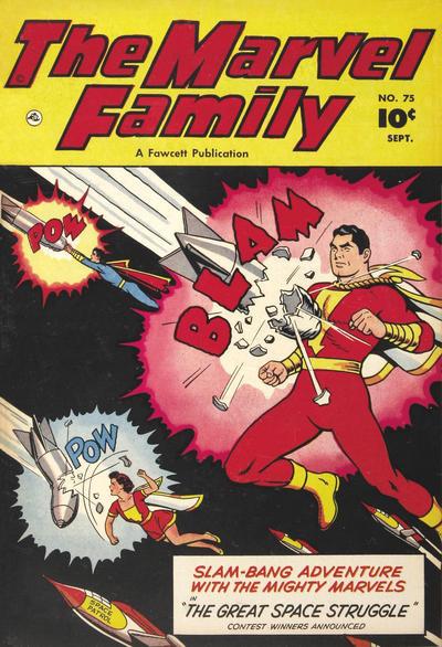 Cover for The Marvel Family (Fawcett, 1945 series) #75