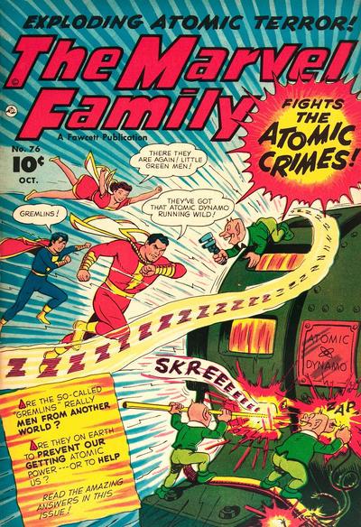 Cover for The Marvel Family (Fawcett, 1945 series) #76