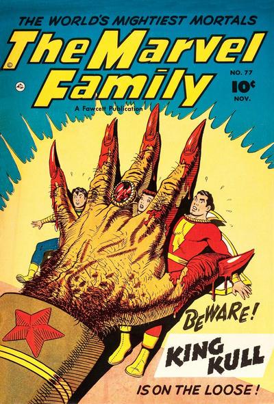 Cover for The Marvel Family (Fawcett, 1945 series) #77