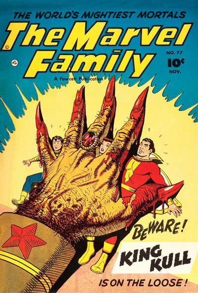 Cover for The Marvel Family (Fawcett, 1945 series) #77