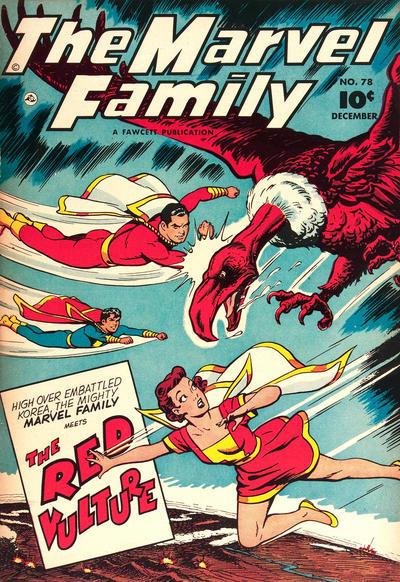 Cover for The Marvel Family (Fawcett, 1945 series) #78