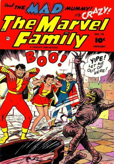 Cover for The Marvel Family (Fawcett, 1945 series) #79