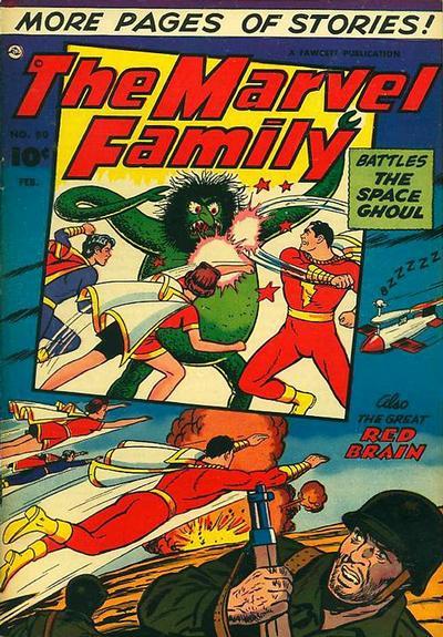 Cover for The Marvel Family (Fawcett, 1945 series) #80