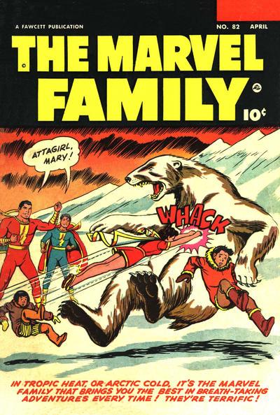 Cover for The Marvel Family (Fawcett, 1945 series) #82