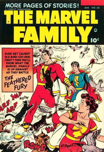 Cover for The Marvel Family (Fawcett, 1945 series) #86
