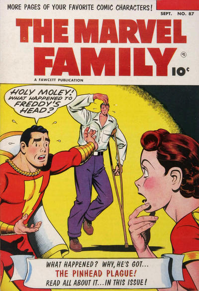 Cover for The Marvel Family (Fawcett, 1945 series) #87
