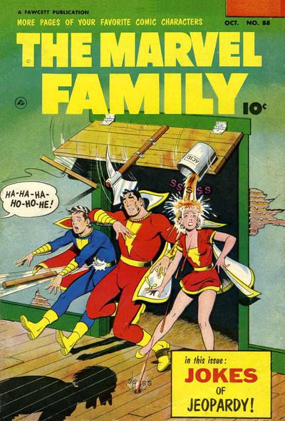 Cover for The Marvel Family (Fawcett, 1945 series) #88