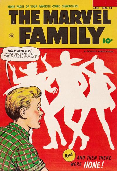 Cover for The Marvel Family (Fawcett, 1945 series) #89