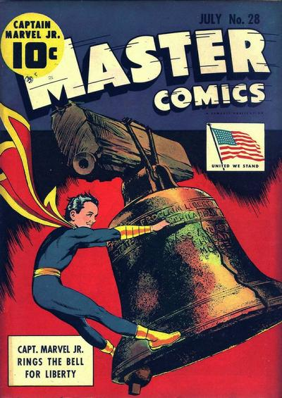 Cover for Master Comics (Fawcett, 1940 series) #28