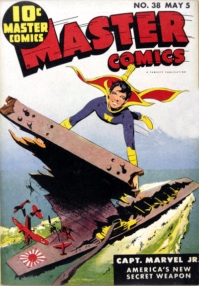 Cover for Master Comics (Fawcett, 1940 series) #38