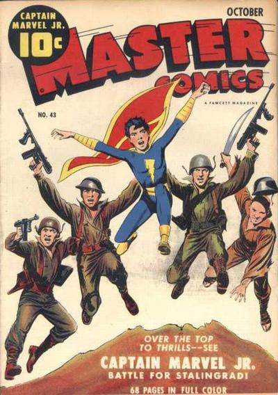 Cover for Master Comics (Fawcett, 1940 series) #43