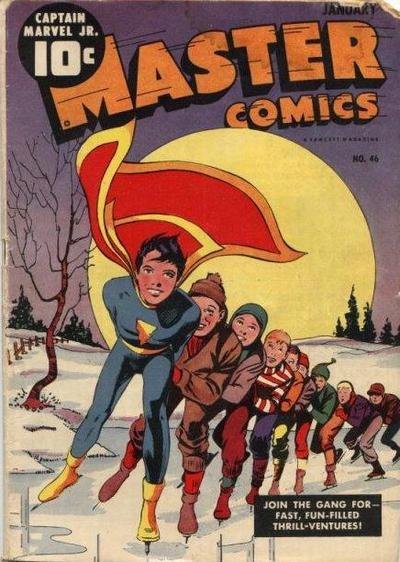 Cover for Master Comics (Fawcett, 1940 series) #46