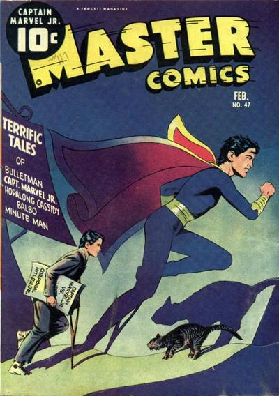 Cover for Master Comics (Fawcett, 1940 series) #47