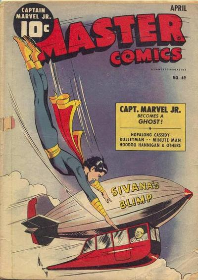Cover for Master Comics (Fawcett, 1940 series) #49