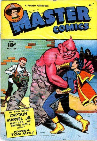 Cover for Master Comics (Fawcett, 1940 series) #104