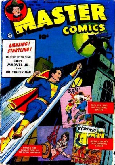 Cover for Master Comics (Fawcett, 1940 series) #126