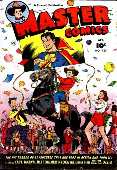 Cover for Master Comics (Fawcett, 1940 series) #127