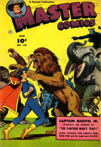 Cover for Master Comics (Fawcett, 1940 series) #128