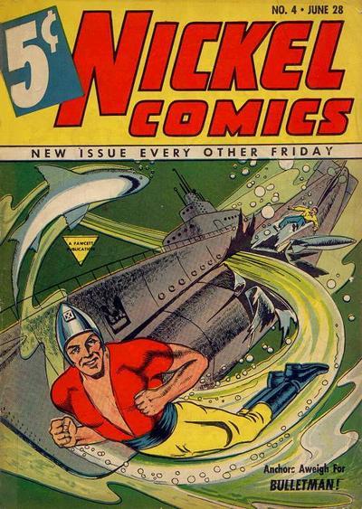 Cover for Nickel Comics (Fawcett, 1940 series) #4