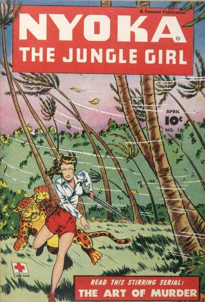 Cover for Nyoka the Jungle Girl (Fawcett, 1945 series) #18