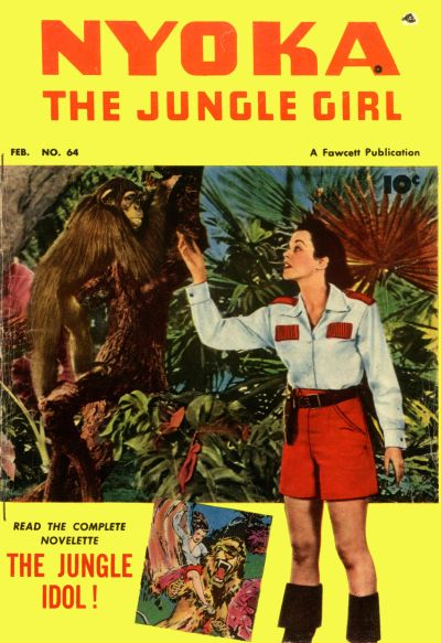 Cover for Nyoka the Jungle Girl (Fawcett, 1945 series) #64