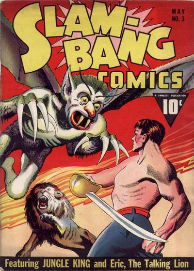 Cover for Slam-Bang Comics (Fawcett, 1940 series) #3