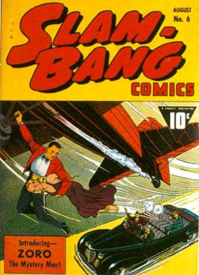 Cover for Slam-Bang Comics (Fawcett, 1940 series) #6