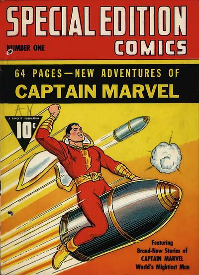 Cover for Special Edition Comics (Fawcett, 1940 series) #1