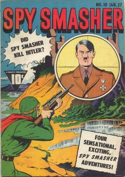 Cover for Spy Smasher (Fawcett, 1941 series) #10