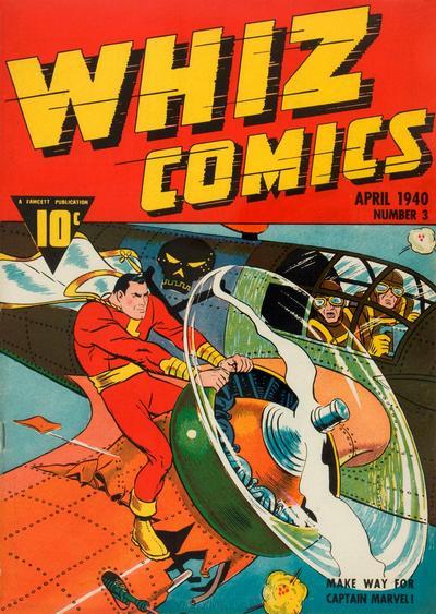 Cover for Whiz Comics (Fawcett, 1940 series) #4 (3)