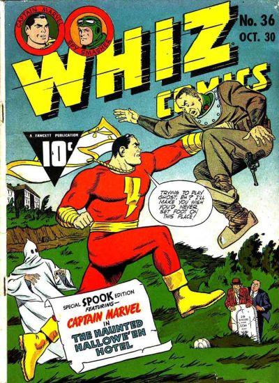 Cover for Whiz Comics (Fawcett, 1940 series) #36