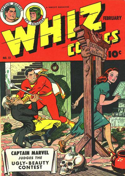Cover for Whiz Comics (Fawcett, 1940 series) #51