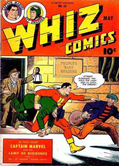 Cover for Whiz Comics (Fawcett, 1940 series) #65