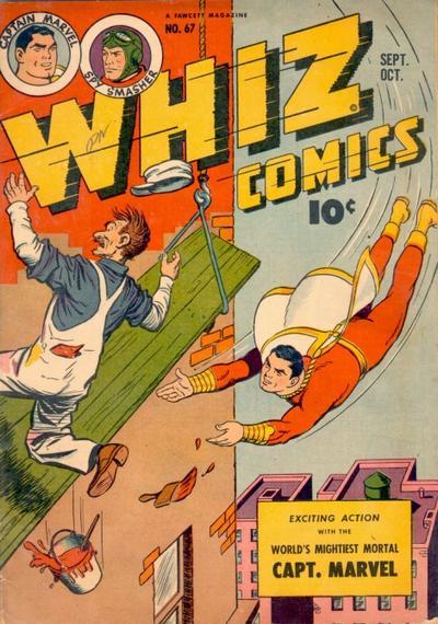 Cover for Whiz Comics (Fawcett, 1940 series) #67