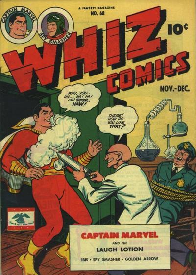 Cover for Whiz Comics (Fawcett, 1940 series) #68