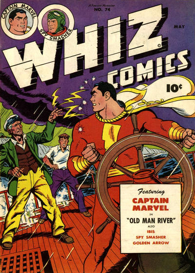 Cover for Whiz Comics (Fawcett, 1940 series) #74