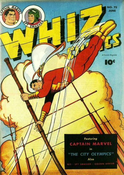 Cover for Whiz Comics (Fawcett, 1940 series) #75