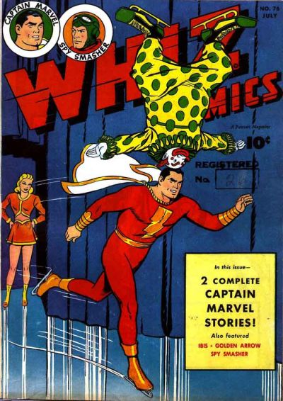 Cover for Whiz Comics (Fawcett, 1940 series) #76