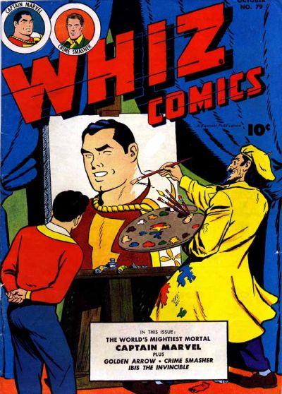 Cover for Whiz Comics (Fawcett, 1940 series) #79