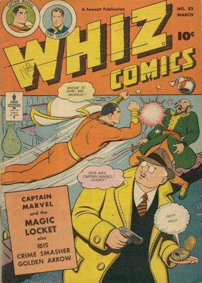 Cover for Whiz Comics (Fawcett, 1940 series) #83