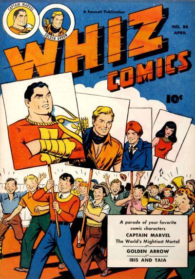 Cover for Whiz Comics (Fawcett, 1940 series) #84