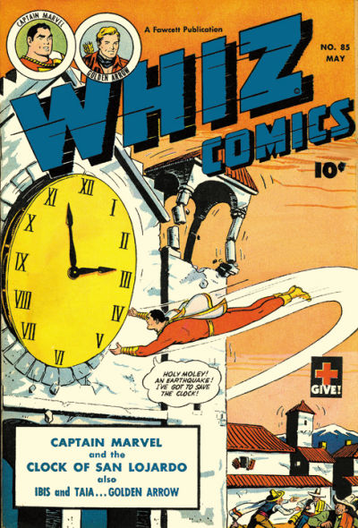 Cover for Whiz Comics (Fawcett, 1940 series) #85