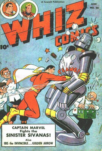 Cover for Whiz Comics (Fawcett, 1940 series) #86
