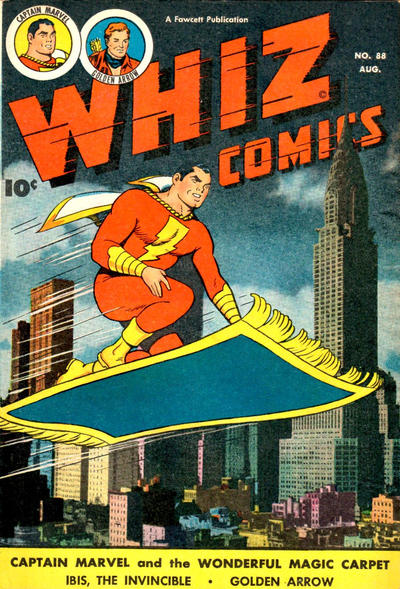 Cover for Whiz Comics (Fawcett, 1940 series) #88