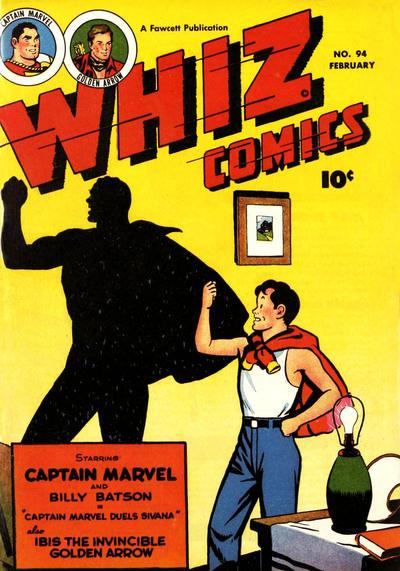 Cover for Whiz Comics (Fawcett, 1940 series) #94